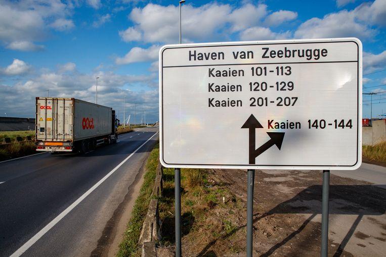 De smokkel vond plaats via de haven van Zeebrugge.