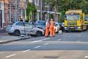 Vier auto's beschadigd bij ongeval Bergen op Zoom