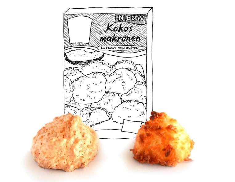 Kokosmakronen  Beeld Karin Luiten