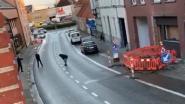 VIDEO. Politie schiet gewapende man dood in centrum van Kruishoutem