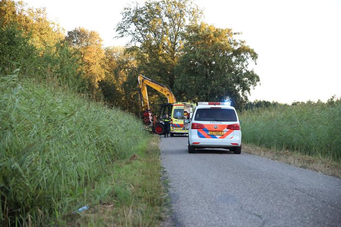 Het ongeluk gebeurde aan de Beemdsestraat in Zoelen.