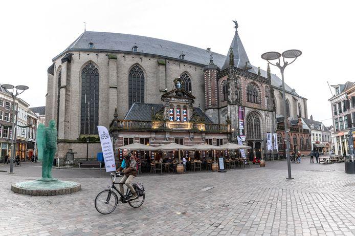 De Grote Kerk in Zwolle.