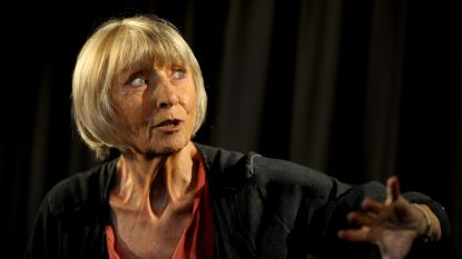 Actrice Leen Persijn brengt zondag theatermonoloog Angélique in Sock