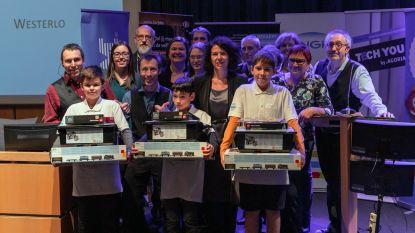 Leuvense jongeren  winnen Vlaamse Junior Stem Olympiade
