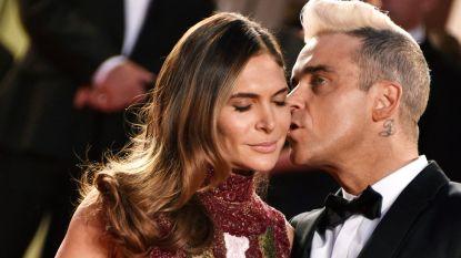 Robbie Williams verwelkomt vierde kind op Valentijn