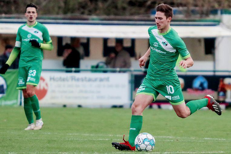 Nicolas Van Buyten scoorde het winnende doelpunt.