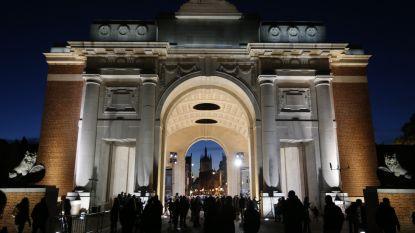 Last Post weerklinkt aan de Menenpoort, 100 jaar na het einde van de Eerste Wereldoorlog