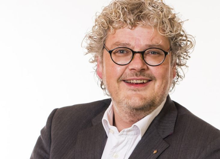 Columnist Wouter de Heus.