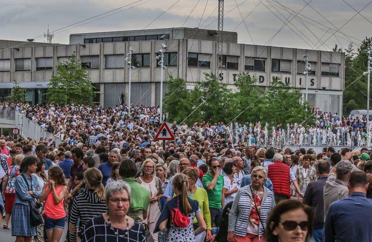 Het wordt druk in Waregem, met nu al 38.261 inwoners.