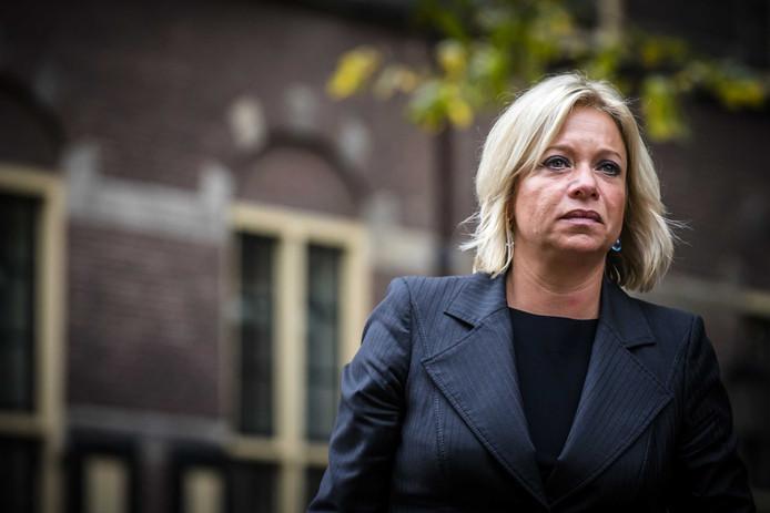 Minister Jeanine Hennis-Plasschaert van Defensie.