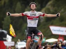 20-jarig toptalent Pogacar juicht in ultrakorte monsterrit, Quintana nieuwe leider