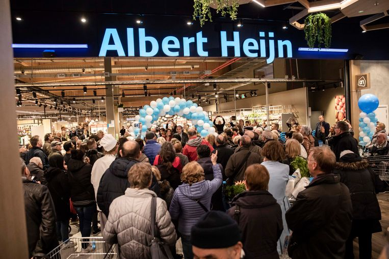 Opening Albert Heijn in Shopping 1 te Genk.