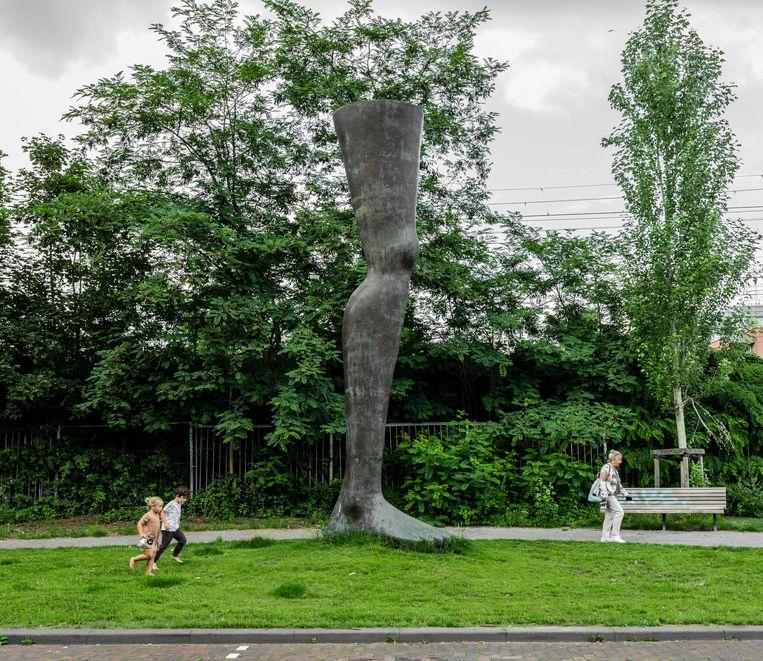 Noch einmal is het laatste kunstwerk dat Ymere in de openbare ruimte zou neerzetten Beeld Nosh Neneh