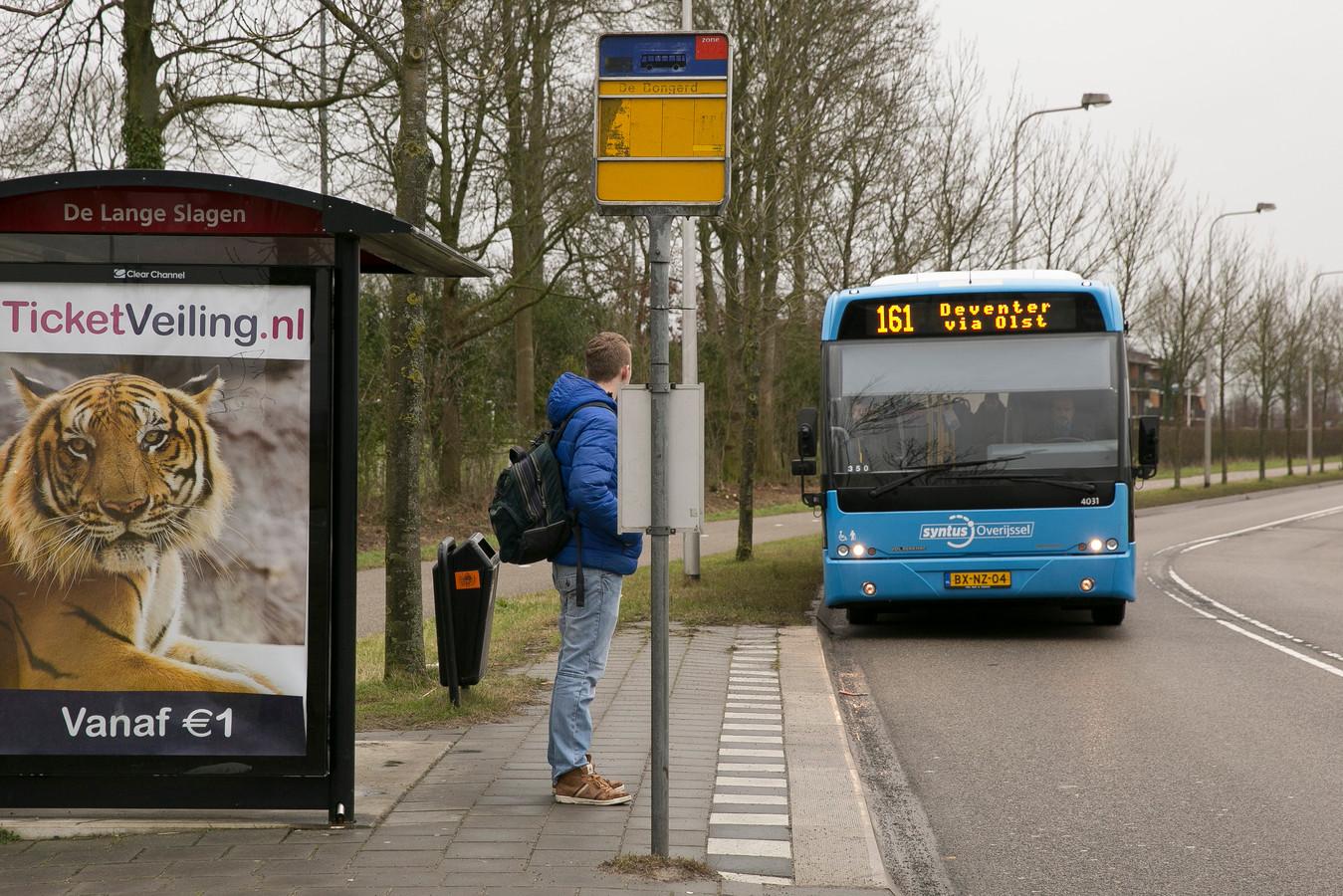 Vanaf 17 februari stopt bus 161 niet meer bij de haltes Langstraat en Het Weytendaal.