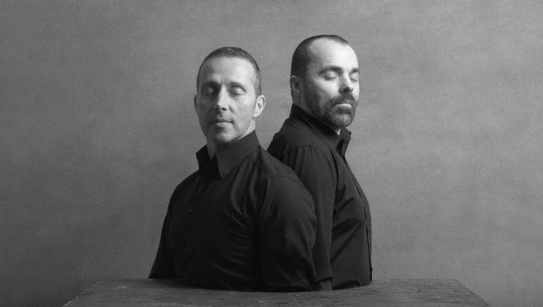 Roel Moonen (links) en Michel Vanderheijden van Tinteren. Beeld Koen Hauser