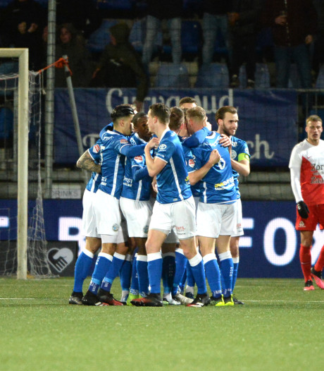 FC Den Bosch wint van Jong FC Utrecht en boekt derde zege op rij