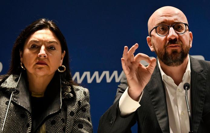 Charles Michel & Marie Christine Marghem