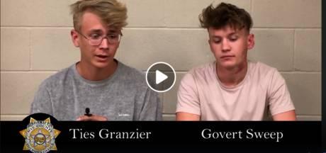 YouTubers Ties en Govert moeten nog drie dagen celstraf uitzitten voor betreden Area 51
