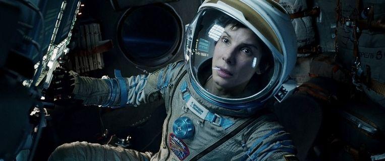 Sandra Bullock in Gravity. Beeld ap