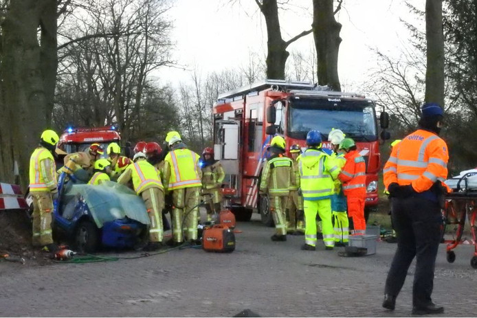 Automobilist zwaargewond bij ongeval bij Borkel en Schaft.