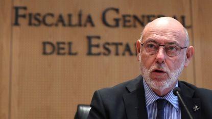 Spaanse procureur-generaal (66) die Catalaanse separatisten vervolgde is overleden
