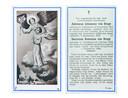Het verdriet straalt af van de bidprentjes: 'Twee mensjes weggerukt van vaders hart (...), twee kindertjes weggerukt uit moeders armen'