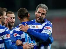 Doodeman velt Jong AZ met vijf assists, De Graafschap haalt opgelucht adem in Helmond
