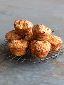 Courgette-kaasmuffins.