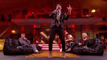 Koen Wauters rapt de volledigde tekst van 'Rapper's Delight' in 'Wat Een Jaar'