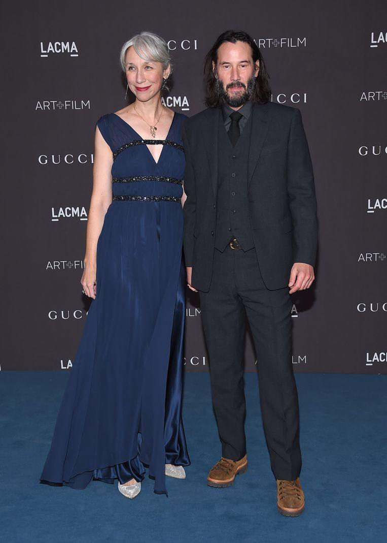 Alexandra Grant en Keanu Reeves