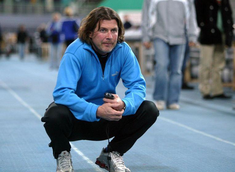 Bondscoach Peter Mueller in 2003. Beeld anp