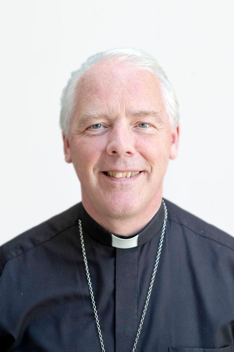 Hulpbisschop Everard de Jong (60). Beeld Merlin Daleman
