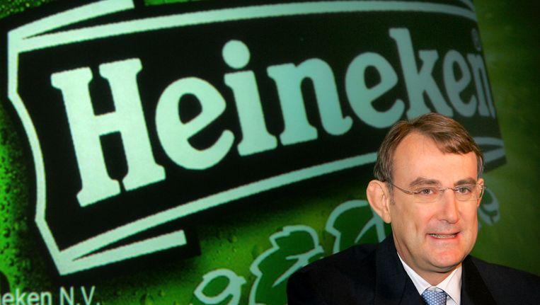 CEO van Heineken, Jean-Francois van Boxmeer Beeld AP