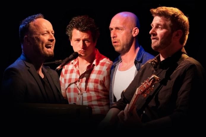 René Cijffers, Rob Housen, Joris Cijffers en Marco Wensveen.