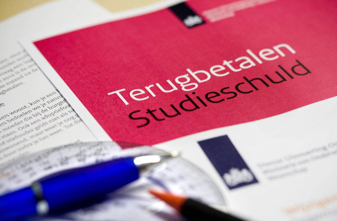 Studenten lenen voor hun studie.