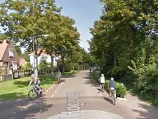 Klacht over smalle fietsstrook bij Burgh
