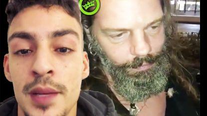 VIDEO: Rapper Boef valt dronken man lastig op beruchte 'kech'-avond