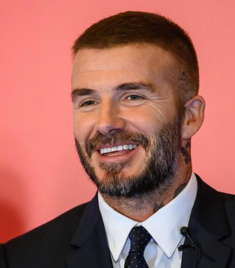 'David Beckham onderging stiekem een haartransplantatie'