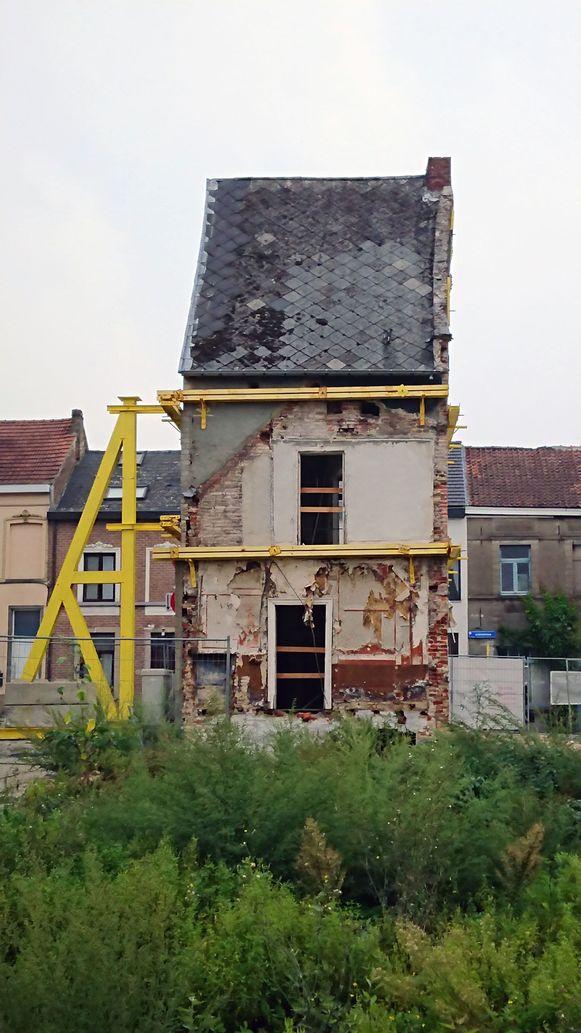 Deze historische woning verdwijnt uit het Leuvense straatbeeld.