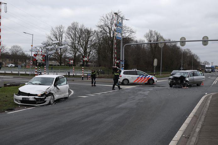 Beide voertuigen zijn beschadigd geraakt.