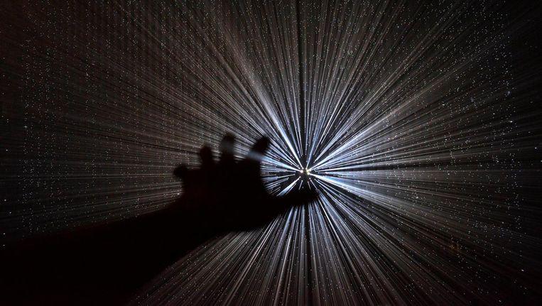 Lichtkunst van Yasuhiro Chida. Beeld Parklicht