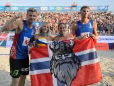 Noorse beachvolleyballers winnen World Tour in Hamburg