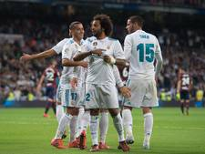 Real Madrid simpel voorbij Eibar