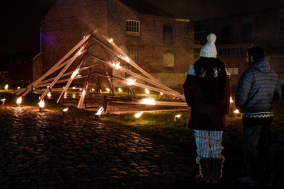Gisterenavond was er al een sneakpreview van wintering op de site van het  scheepvaartmuseum Baasrode -