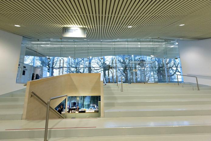 De entree van Museum Het Valkhof.