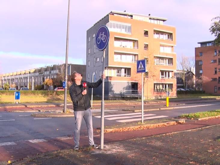 Het belangrijkste nieuws uit de regio: het beroemdste verkeersbord van het land staat in Vlaardingen en drukte bij Black Friday