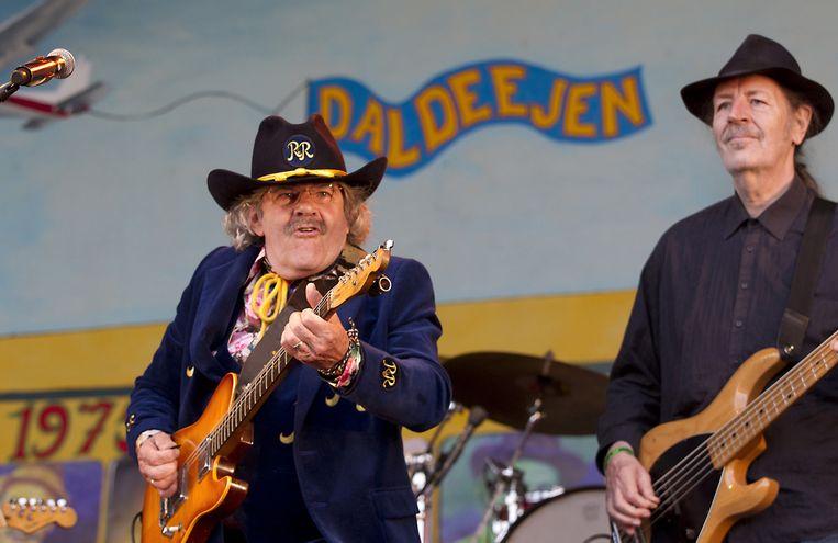 Bennie Jolink tijdens het afscheidsconcert op Hemelvaartsdag in Lochem. Beeld ANP