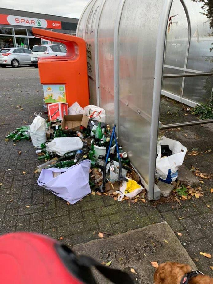Sluikstort Hofstade Zijpstraat.