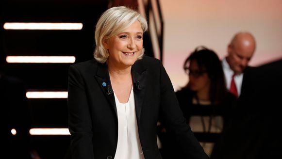 De extreemrechtse Marine Le Pen, leider van het Front National.