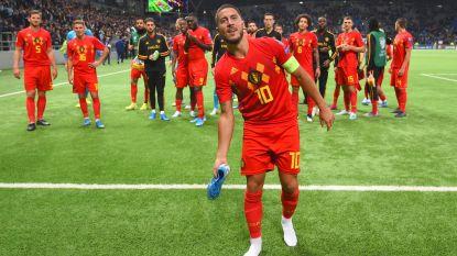 """Eden Hazard schetst mentaliteit Duivels: """"We kunnen altijd nog beter, ook al is het al goed"""""""